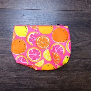 Clinique Hot Pink Fruit Cosmetic Bag